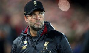 Jürgen Klopp at Liverpool v Everton