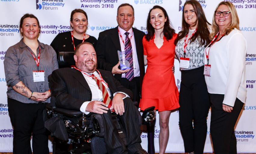 DISABLED PEOPLE'S CHOICE AWARD