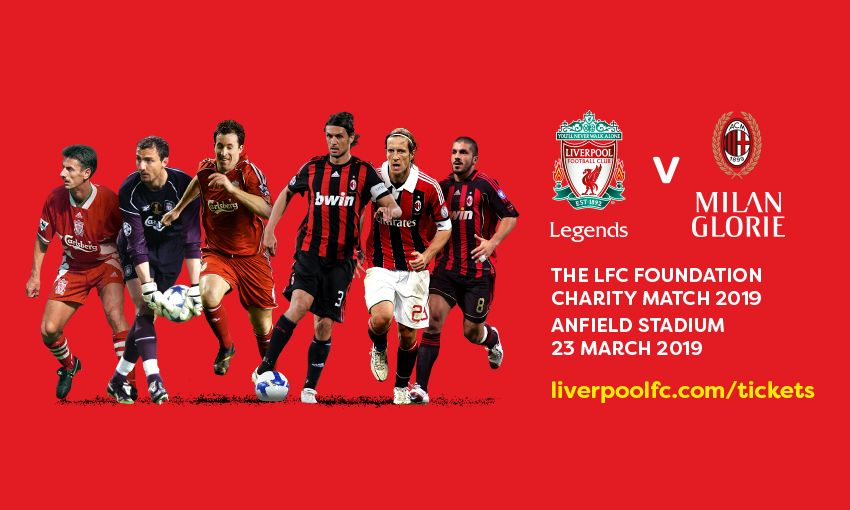 LFC Foundation Legends Charity Match 2019