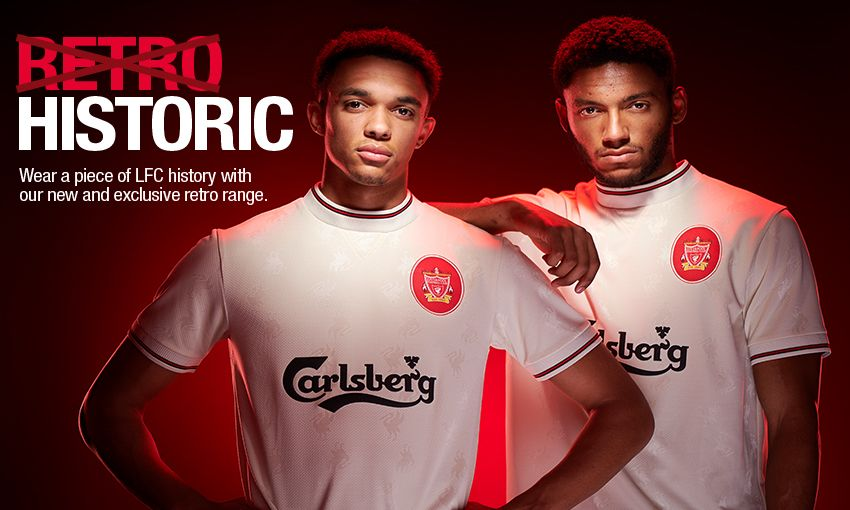 new concept 792e2 7628e New retro kits now available at LFC stores - Liverpool FC
