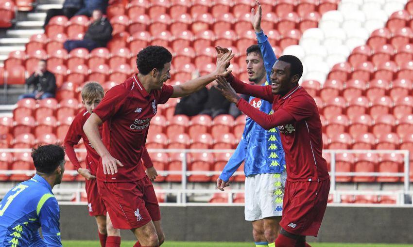 Liverpool U19s v Napoli