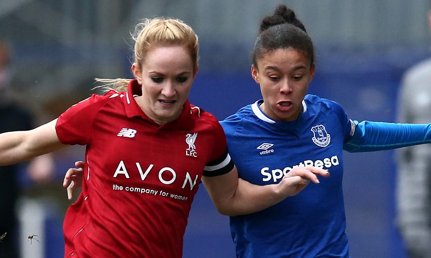 LFC Women beaten by Everton in Continental Cup tie - Liverpool FC