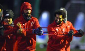 Liverpool training, December 18