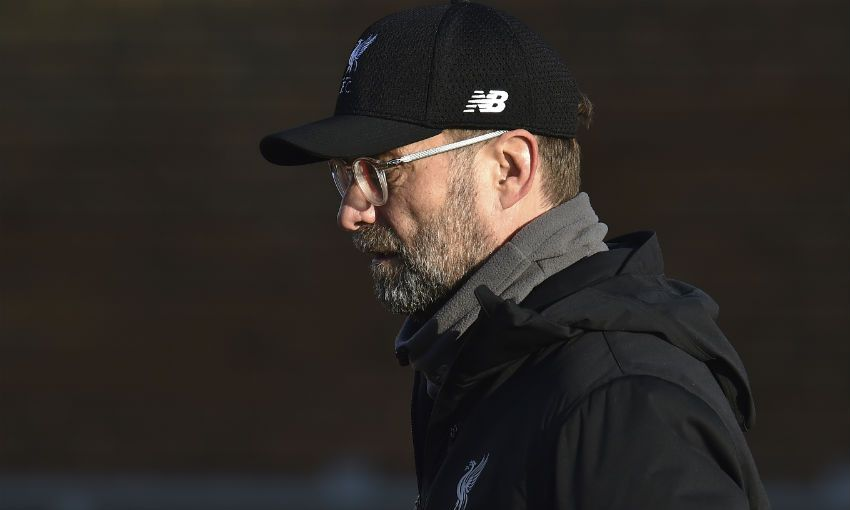Liverpool FC's training session at Melwood on December 24, 2018