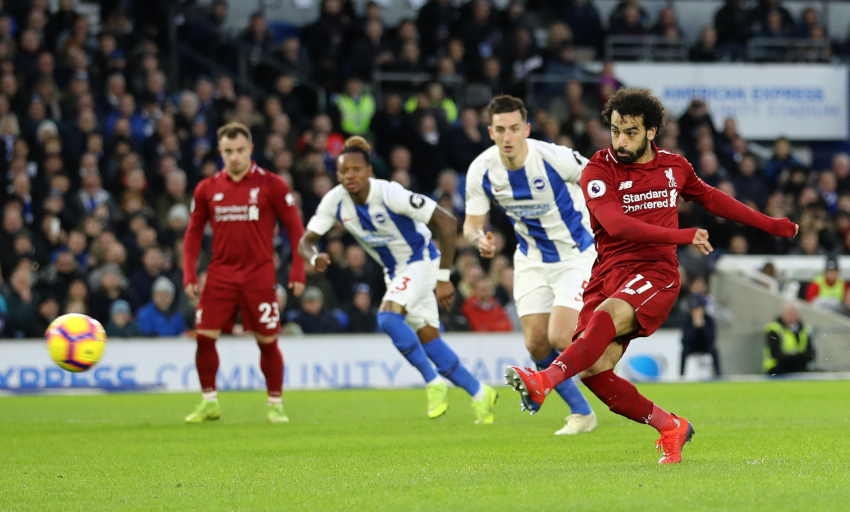 Liverpool's Andy Robertson defends Mohamed Salah from diving accusations