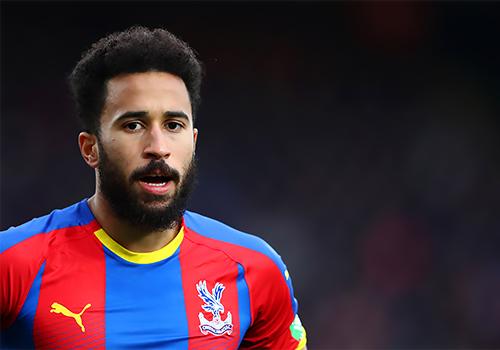 Crystal Palace forward Andros Townsend