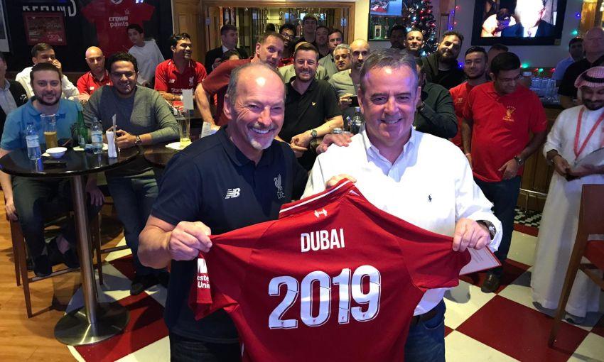 9ff3fc7f8 LFC CEO visits Dubai Reds - Liverpool FC