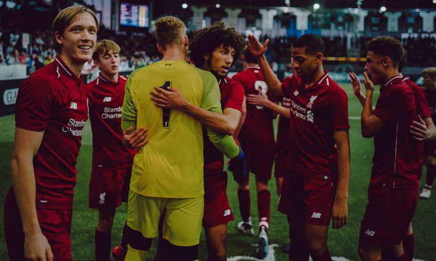 Liverpool FC U18s win Mercedes-Benz Junior Cup