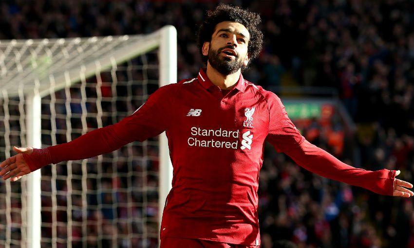 Liverpool FC's Mohamed Salah