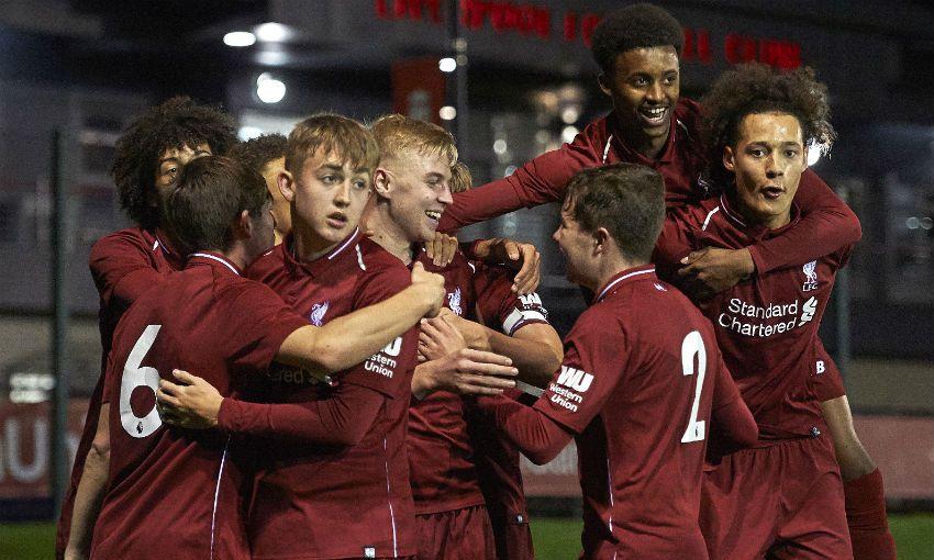 Liverpool U18s v Sunderland