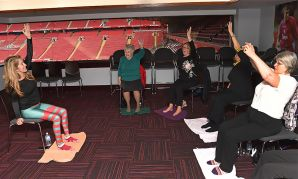 Chair-based Yoga at Anfield