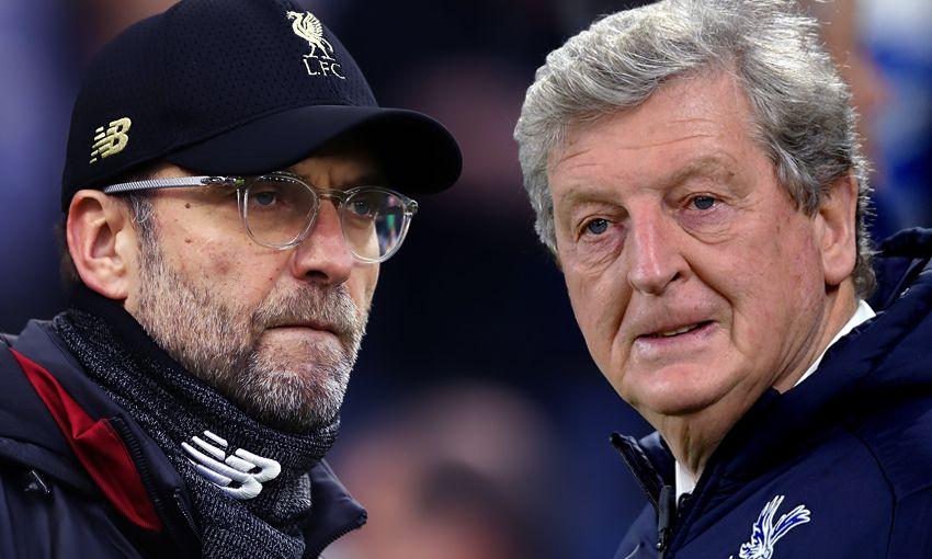 Jürgen Klopp and Roy Hodgson
