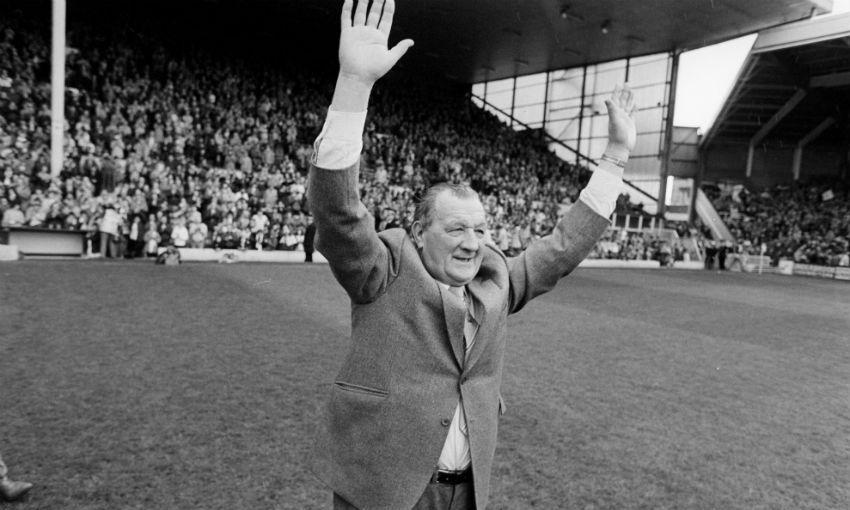Legendary Liverpool FC manager Bob Paisley