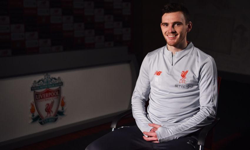 Andy Robertson signs new LFC deal