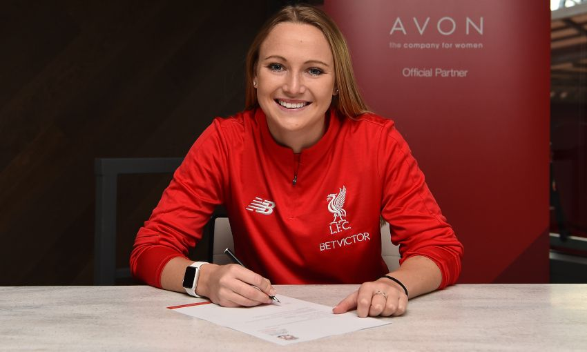 Jemma Purfield signs for Liverpool FC Women