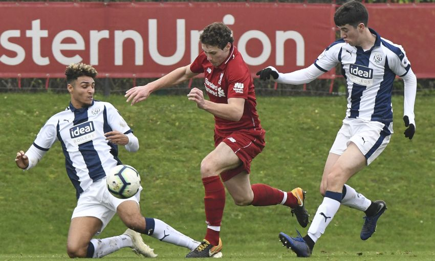 Liverpool U23s v West Bromwich Albion, Premier League Cup