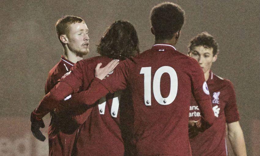 Liverpool U23s v Swansea City, January 2019