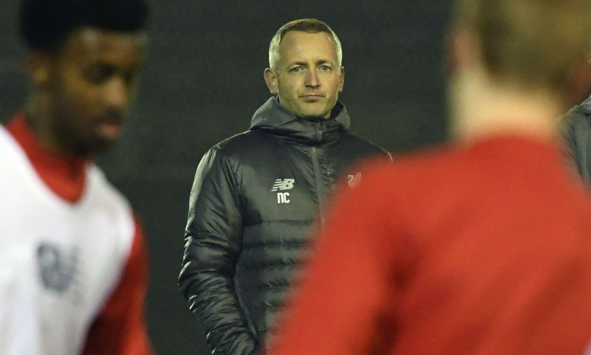 Liverpool FC U23s manager Neil Critchley