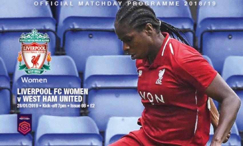 Pick up your LFC Women s programme v West Ham - Liverpool FC 1dfacd6c4