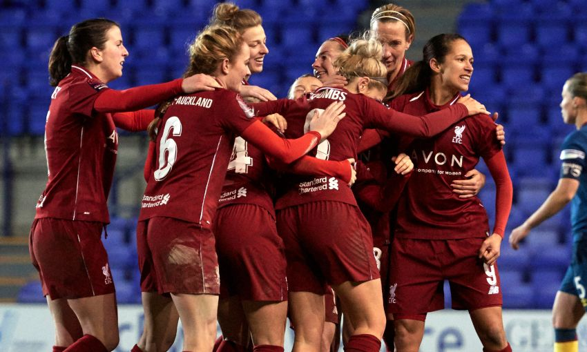 LIVERPOOL FC WOMEN V WEST HAM