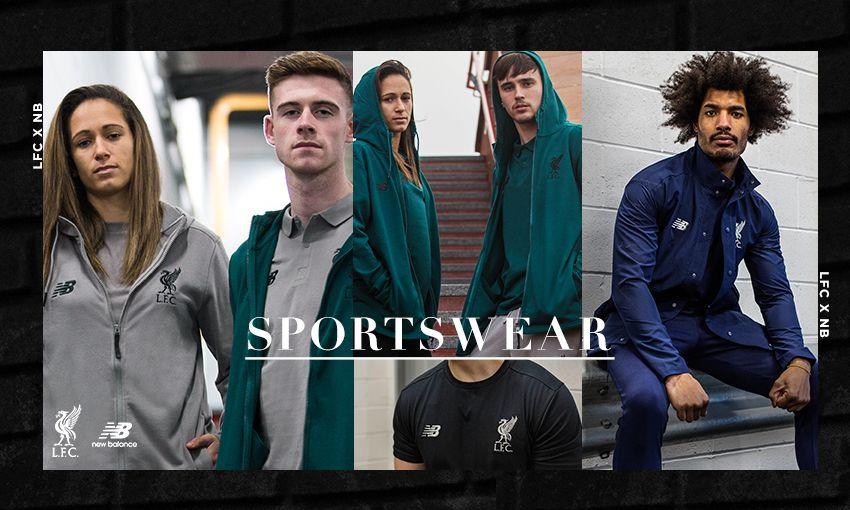 LFC x New Balance Sportswear Collection