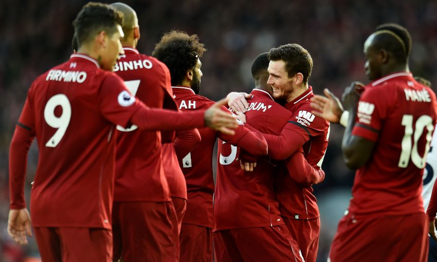 e2bbe27f5 Report  Reds return to top with Anfield win over Bournemouth - Liverpool FC