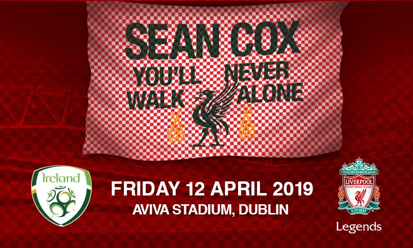 Legends Officially Launch Sean Cox Charity Match Liverpool Fc