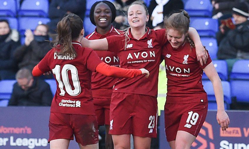 JEMMA PURFIELD LIVERPOOL FC WOMEN