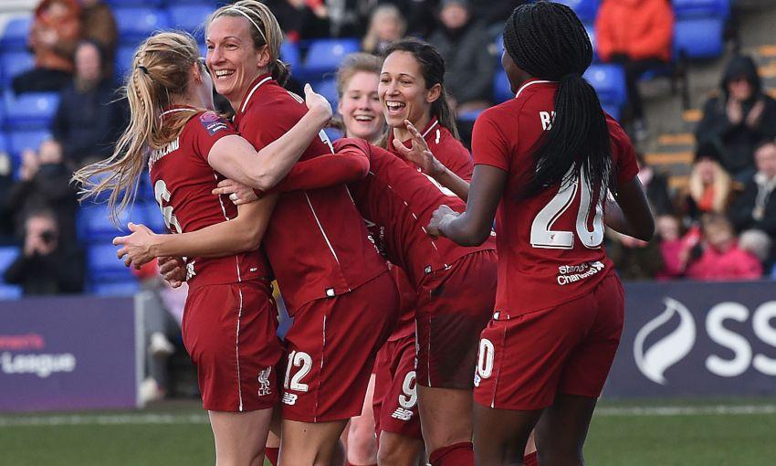 LIVERPOOL FC WOMEN V MK DONS