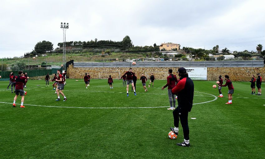 Liverpool FC's Marbella training camp, February 2019