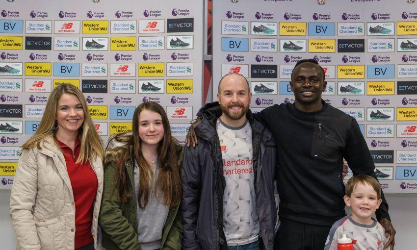 Sadio Mane Meets Foundation Fundraising Competition