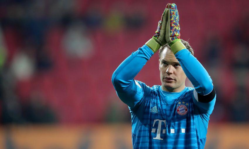 Bayern Munich goalkeeper Manuel Neuer
