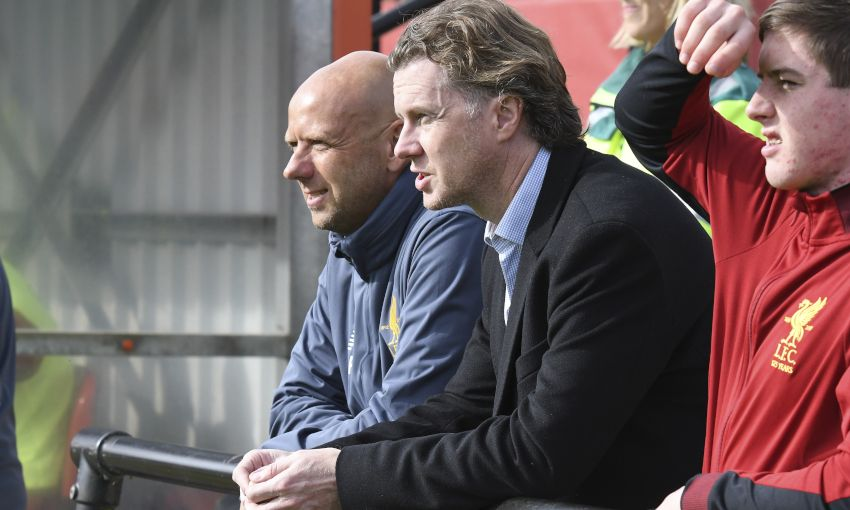 Steve McManaman and Rob Jones