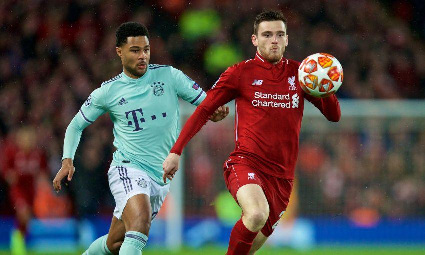Liverpool v Bayern Munich