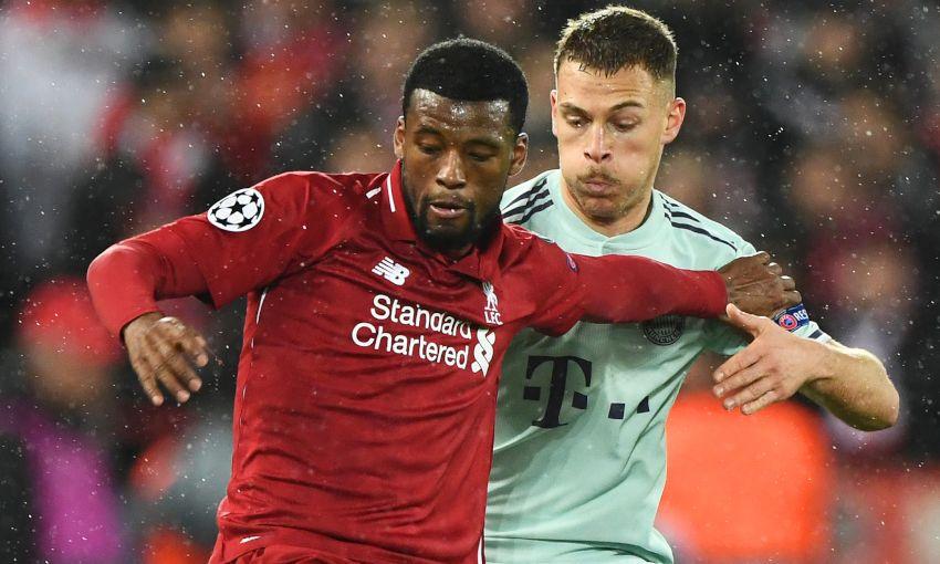 Georginio Wijnaldum v Bayern Munich