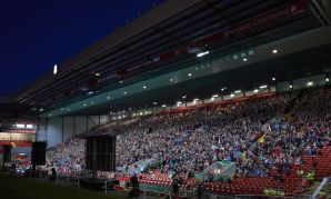 Live screening at Anfield