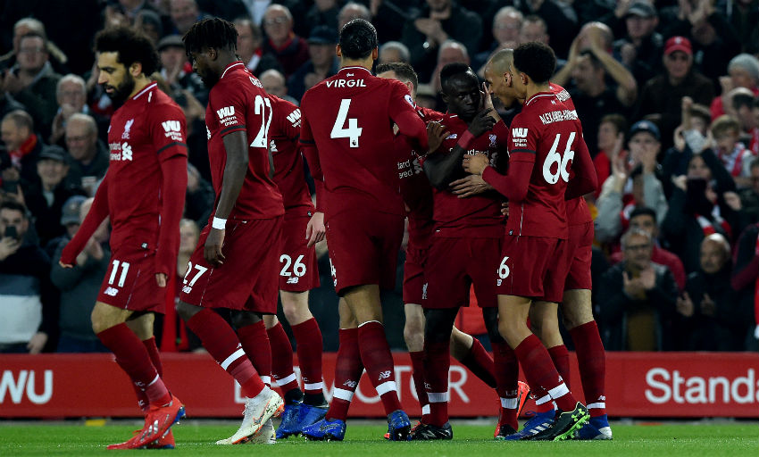 c0f994c4b0f Sadio Mane struck twice in the first 20 minutes to get the Reds up and  running in style