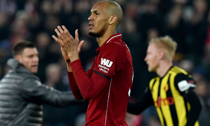 Fabinho of Liverpool FC