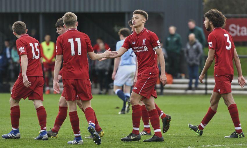 Liverpool U18s v Blackburn Rovers