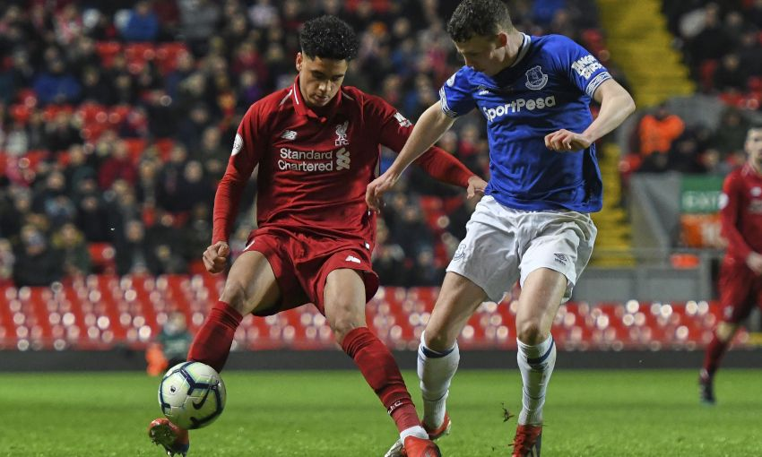 Liverpool U23s v Everton, Premier League 2