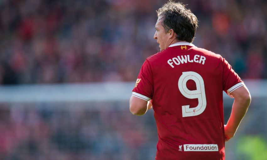 Robbie Fowler, Liverpool FC Legends captain