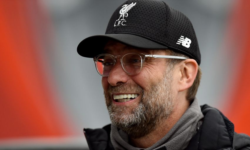 Jürgen Klopp at Melwood