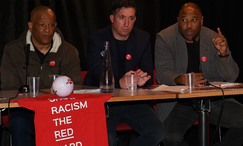 Show Racism the Red Card event, Anfield, March 2019