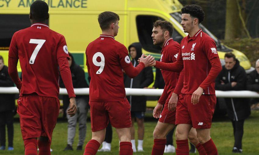 Liverpool U23s v Derby