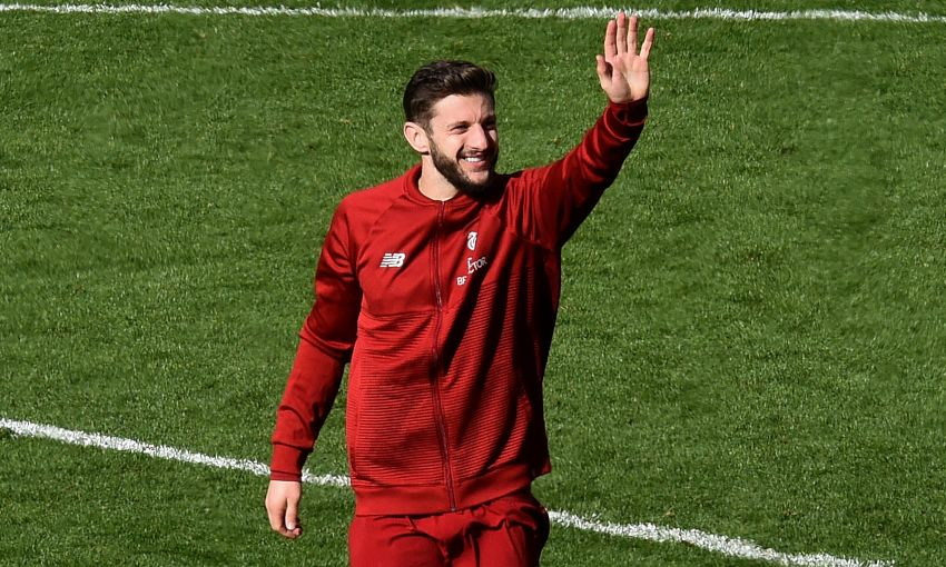 Adam Lallana, Liverpool v Burnley
