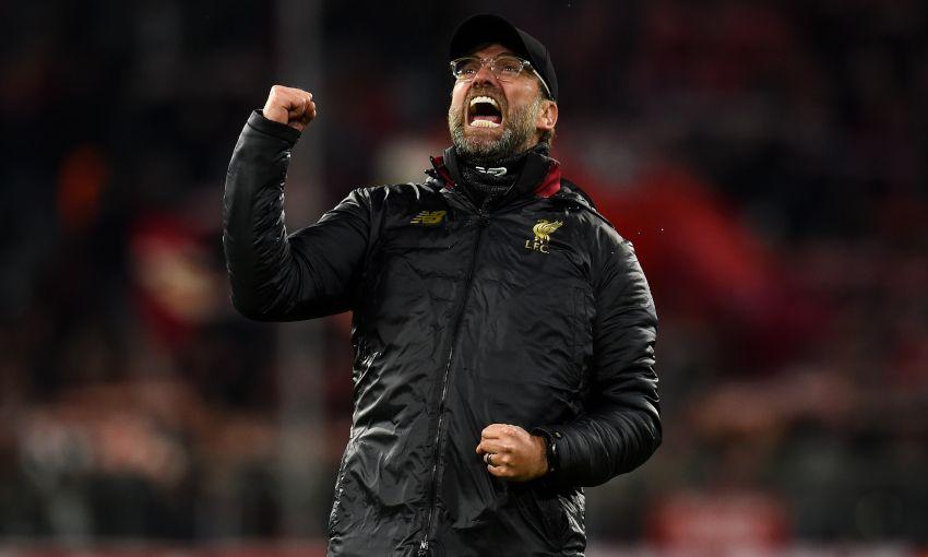 Bayern Munich v Liverpool