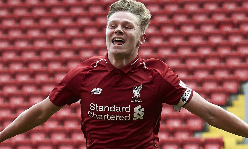 Paul Glatzel, Liverpool FC Academy striker