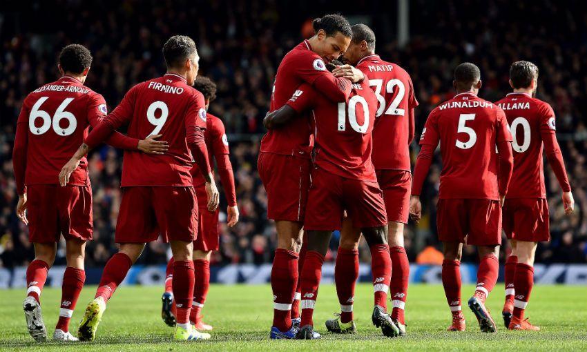 Liverpool FC v Fulham, Craven Cottage