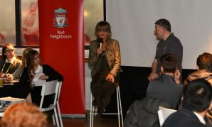 Sue Johnston at Red Neighbours event