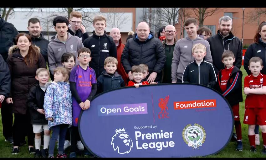 LFC Foundation Open Goals